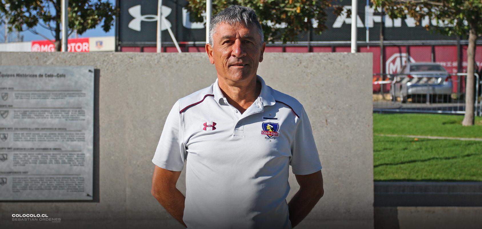 El balance y proyección de Ariel Paolorossi con el Fútbol Joven de Colo-Colo