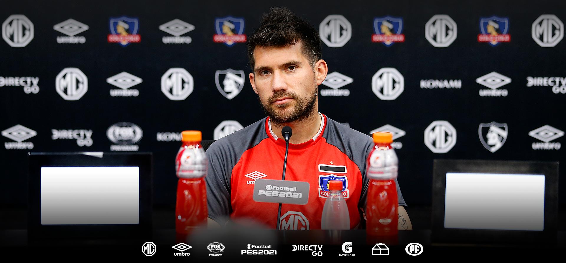 """César Fuentes: """"Queremos tener a Colo-Colo siempre arriba"""""""