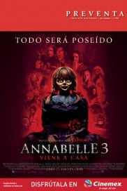 Poster de:1 Annabelle 3: Viene a Casa