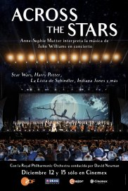 Poster de:2 Across The Stars. La Música de John Williams en Concierto