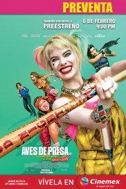 Poster de:1 Aves de Presa (y la Fantabulosa Emancipación de una Harley Quinn)
