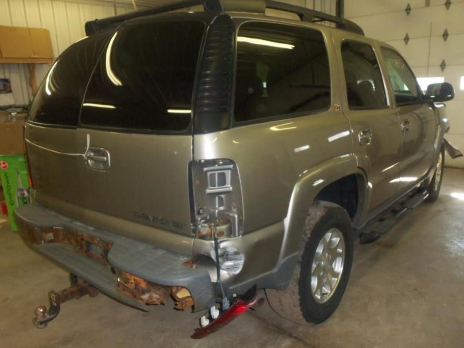 03 Chevy Front Bumpers : Chevrolet tahoe l front lamp fog driving bumper mounted