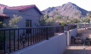 Wall Mounted Fence Designs