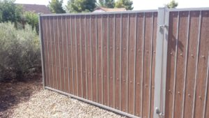 Composite Board Fence