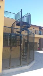 steel staircase phoenix