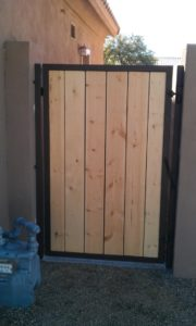 Unfinished Wood Gates