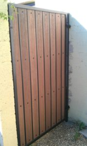 Flat Top Composite Gate