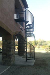 steel staircase scottsdale