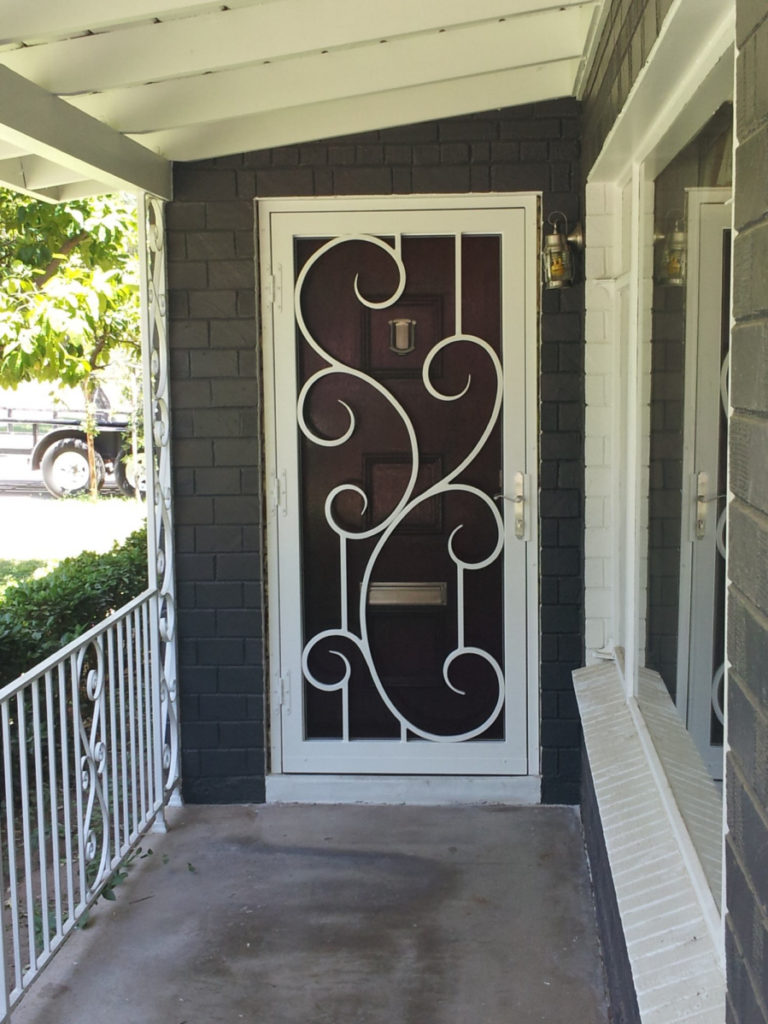 Security screen doors steel creations fabrications inc french design security door scottsdale vtopaller Choice Image