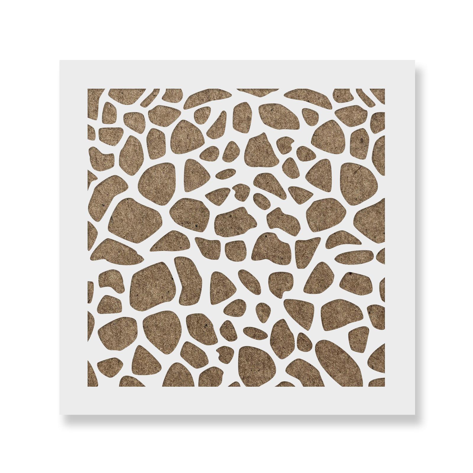 Durable /& Reusable Mylar Stencils Giraffe Cookie Stencil