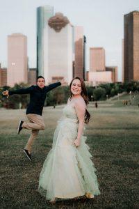Engagement photos houston tx