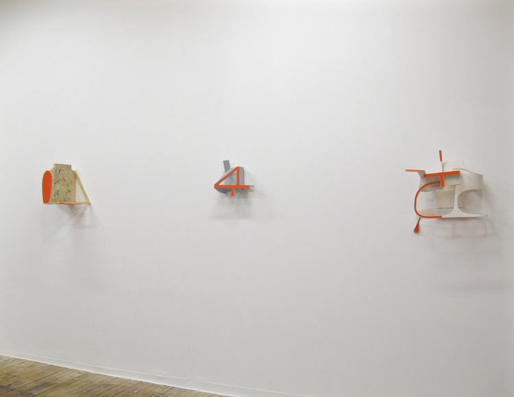 Installation view  wall sculpture 2015 reber      view a