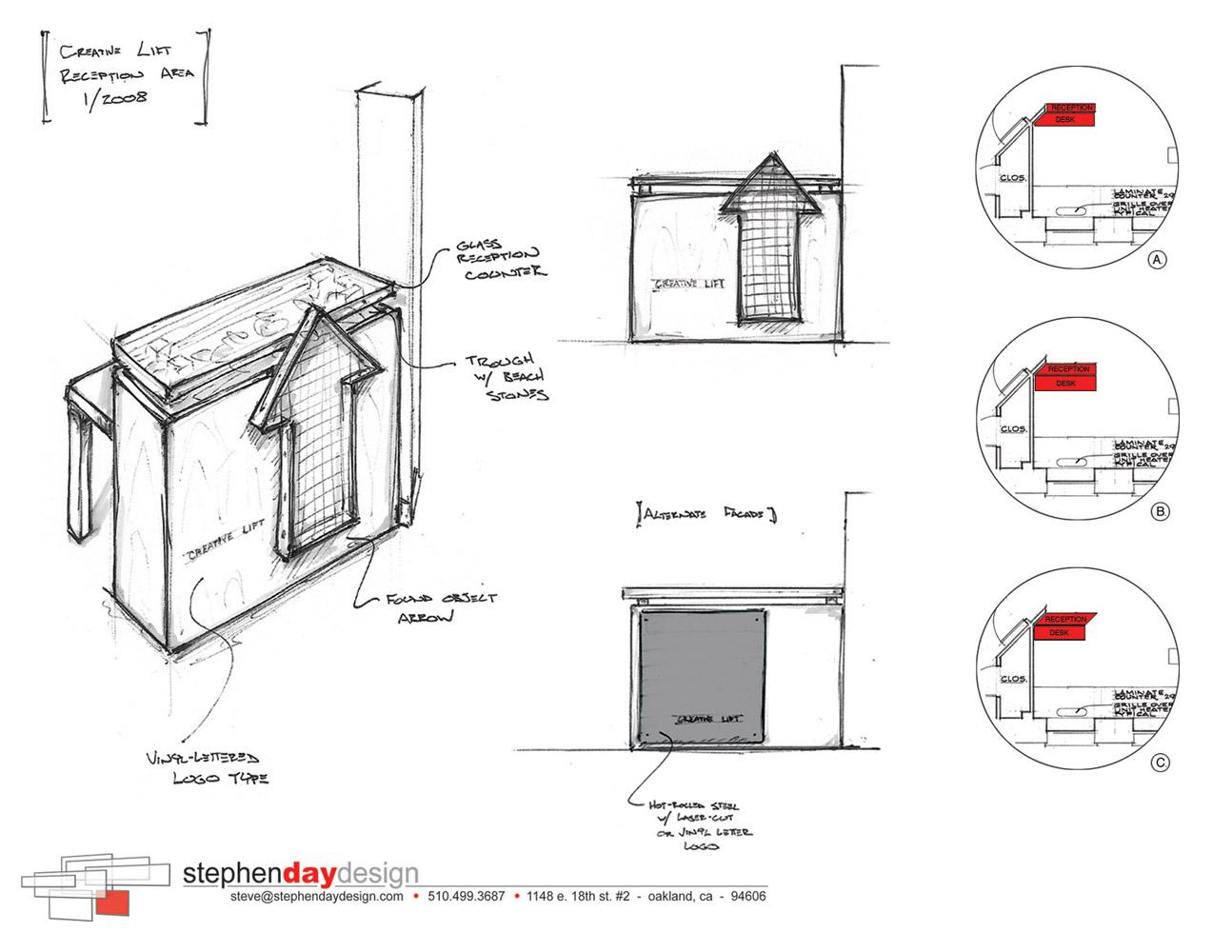 Stephen day design for Table design sketch