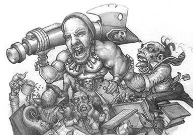 Steve the Barbarian