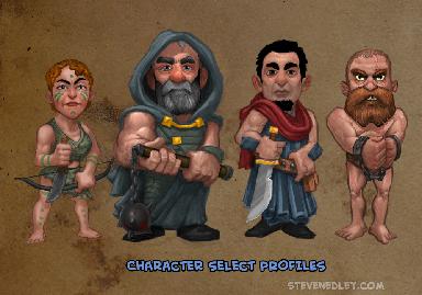 Character Select – GROL