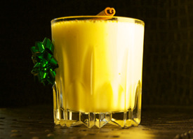 Medical Marijuana Brandy Molasses Egg Nog