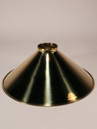Brass Coolie Lamp Shades, Coolie Shade, Stiffkey Period Lighting