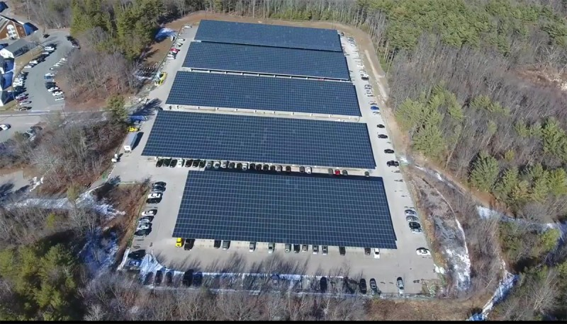 01 & Stonehill and Solect Energy Complete 2.8 Megawatt Solar Canopy ...