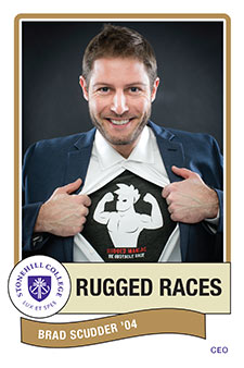 Brad Scudder '12 Rugged Races CEO from Stonehill College