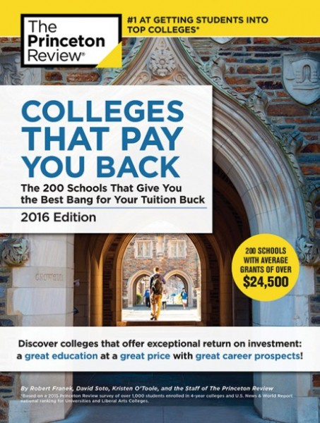 Princeton Review: Colleges That Pay You Back