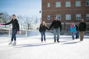 Alumni Day Ice Skating
