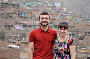 Roberto Rosa '14 and Christine Talbot '14, H.O.P.E. Peru 2014 Student Leaders