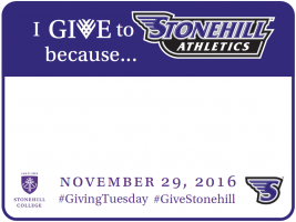 I Give to Stonehill Athletics Because