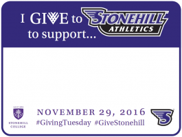 I Gift to Stonehill Athletics to Support