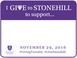 I Give to Stonehill to Support