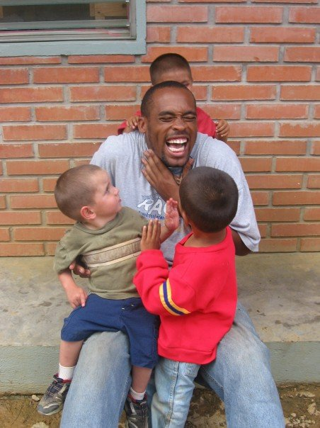 Christian in Honduras during a Stonehill H.O.P.E. trip