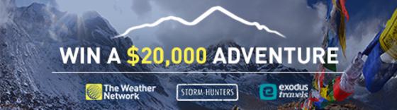 Win a $20,000 adventure!