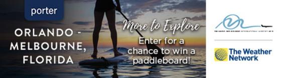 Win a Paddle Board!