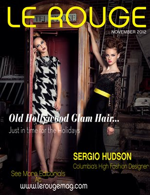 Old Hollywood Glamour - Winter 2012