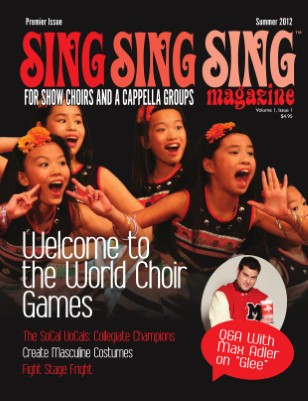 Sing, Sing, Sing - Premier Issue (Summer 2012)