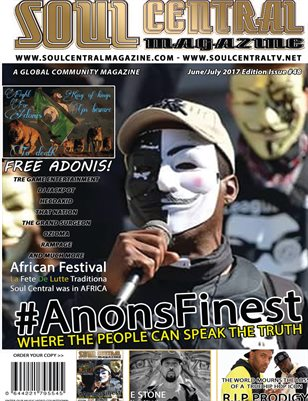 SOUL CENTRAL MAGAZINE #AnonFinest Edition 48