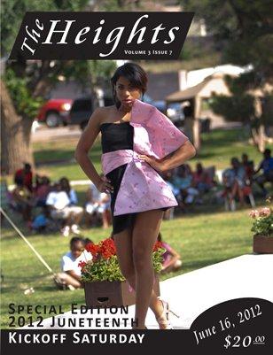 Volume 3 Issue 7 - Juneteenth Kickoff Saturday