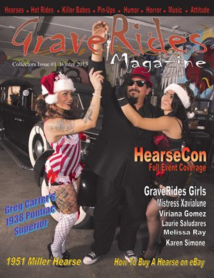 GraveRides Magazine Collectors Issue #1 Winter 2013