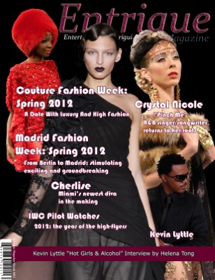 Entrigue Magazine March 2012 Alt Cover