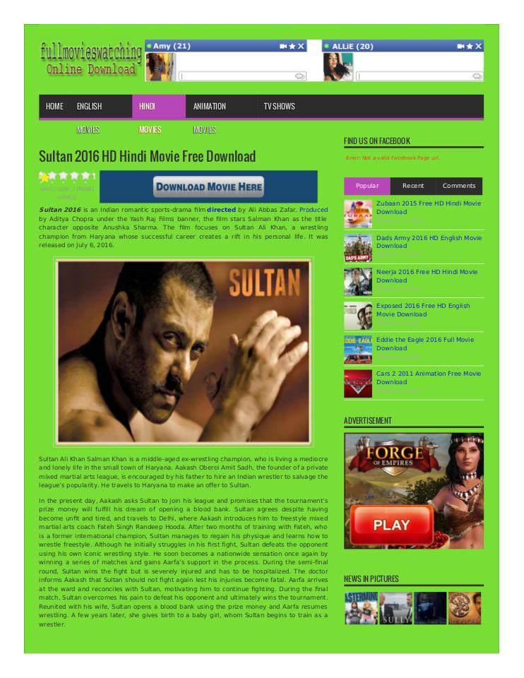 free download sultan full movie 2016