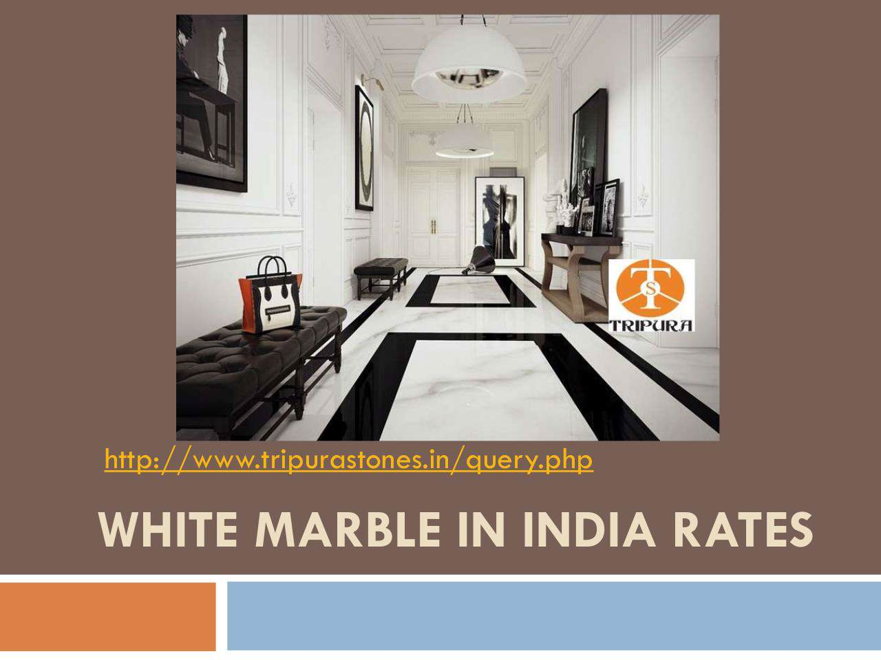 White Marble in India Rates | edocr