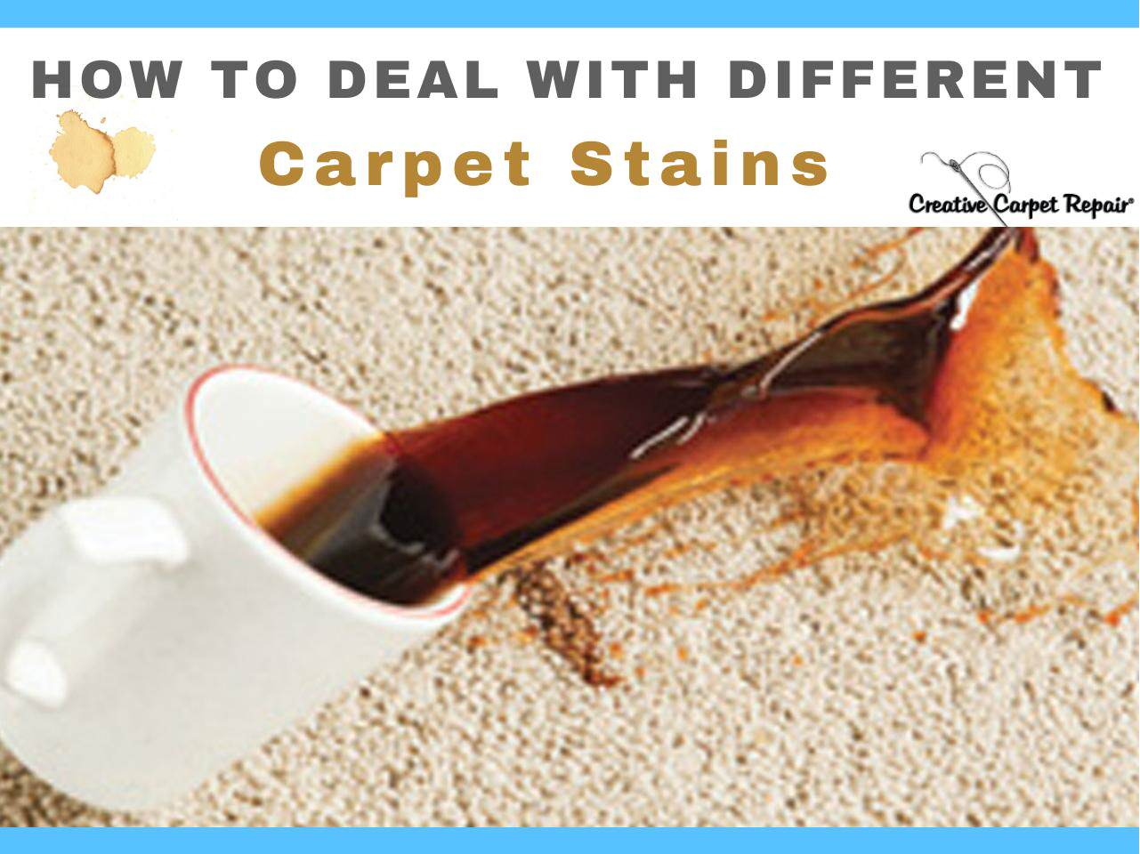 How to Remove Different Carpet Stains - DIY Techniques