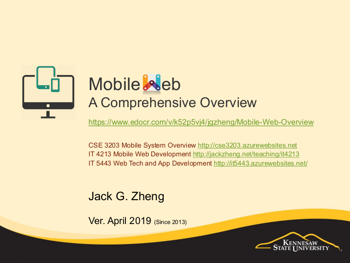 Mobile Web Overview | edocr