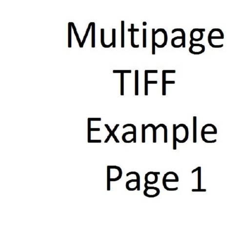Multipage TIFF Sample | edocr
