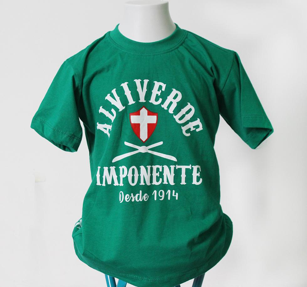 Camiseta Inf Alviverde Imponente cac1335300807