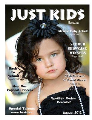 Just Kids Magazine August 2012