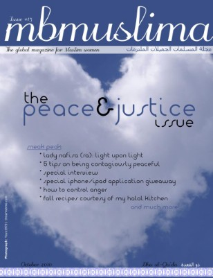 The Peace & Justice Issue
