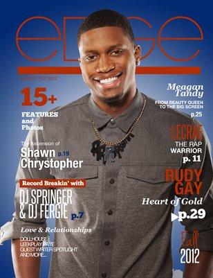 EDGE Magazine Volume 6 : Fall 2012