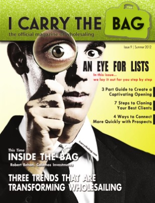 Summer 2012 - All List Issue #3