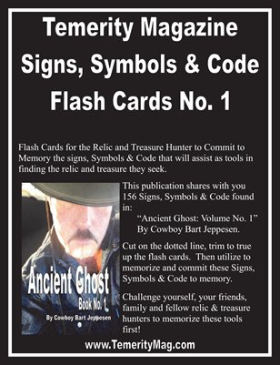 Temerity Magazine: Signs, Symbols & Code Flash Cards No 1