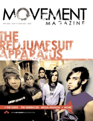 04.2006 THE RED JUMPSUIT APPARATUS,  THE ODDZ, THE EMBRACED
